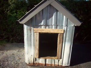 cabane a chien isoler a urethane