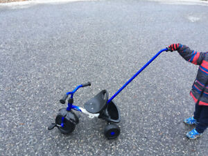 Tricycle - Foldable with Push Bar