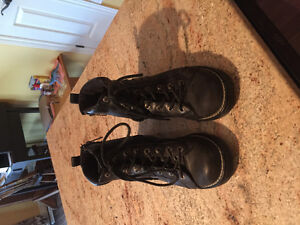 Harley Davidson leather motorcycle boots