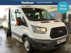 2018 Ford Transit 2.0 TDCi 130ps One Stop Double Cab Tipper Long Wheelbase L3 Ti