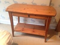 Solid Wood Dressing/Hall Table
