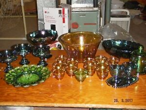 Carnival Glass Dishes