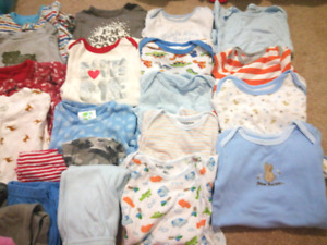 6-9 month boy clothes lot gently used