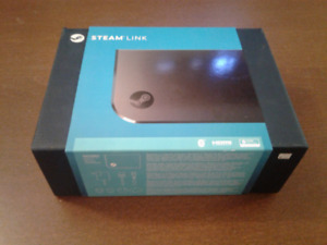 Unopened Steam Link!