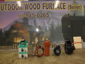 out door wood boiler