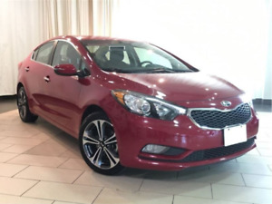 KIA Forte 2014 EX/2.0L/AT (Accident Free! Warranty! Backup cam!)