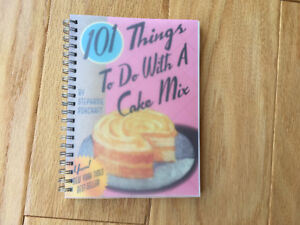 """101 Things to do with a Cake Mix"" - Stephanie Ashcroft"