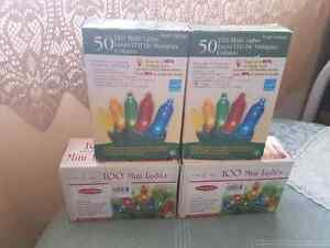 Brand new christmas lights indoor and outdoor