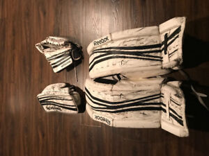 Reebok 14K Sr. Goalie gear
