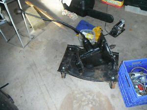 """1932 ford trany fits 32-52 flathead,39 case best  sycro 2""""fork"""