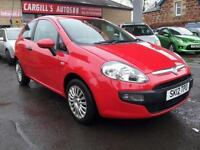 FIAT PUNTO ACTIVE 2012 Petrol Manual in Red