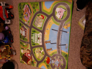 Large paw patrol play mat