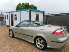 Saab 9-3 2.8t V6 Aero convertible 250bhp REDUCED