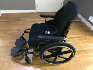 Manual Adult Wheelchair Rarely Used