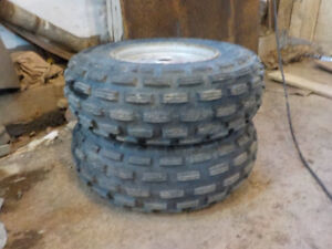Like new front ATV wheels 21x7x10 Kenda Maxxis