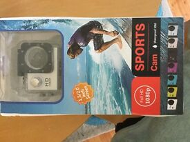 Sports action 1080hd camera brand new