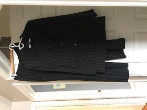 Women's pin stripe suit