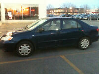 2004 Toyota Corolla CE 4DR : Deal !