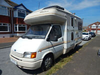 Autohomes Travelhome Ford 2.0 L petrol Motorhome 4 Berth For Sale Shabby Chic