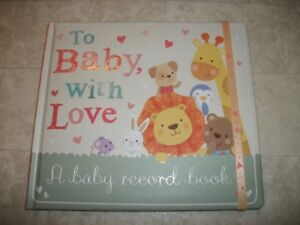 A Baby Record Book - Brand New