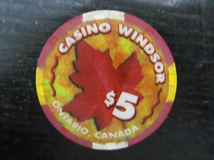 $5 Casino Windsor Token