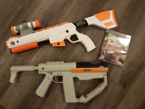 PS3 Move Guns and game