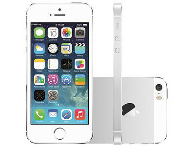 64GB Apple iPhone 5S Silver (A1533) Verizon Factory Unlocked Smartphone US