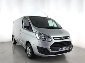 2014 FORD TRANSIT CUSTOM 2.2 TDCi 125ps Low Roof Limited
