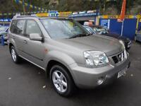 2003 03 NISSAN X-TRAIL 2.2 DI TD SPORT 4X4 IN SILVER # LAST OWNER 8 YEARS #