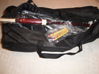 HIGHLAND ROSEWOOD BAGPIPES PROFESSIONAL SET BRAND NEW $300