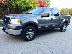 2006 FORD F-150 CREW CAB 4X4 FULLY LOADED RUNS EXCELLENT!