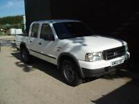 2003 FORD RANGER 4X4 DOUBLE CAB PICK UP TRUCK AIR CON TRUCKMAN TOP 2.5 T/DIESEL