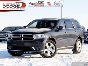 2014 Dodge Durango Limited  | HEATED 1ST/2ND ROW | DVD | SUNROOF