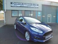 "2016 Ford Fiesta ZETEC""S"" 1.0T ECO BOOST 125 ps S/S Petrol blue Manual"