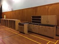 Cabinets - first come first serve
