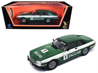 1975 Jaguar XJS Coupe Racing Green 1 1/18 Diecast Model Car by Road Signature