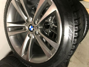 BMW RIMS AND WINTER TIRES 18''