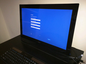 "Acer 23"" touchscreen monitor"