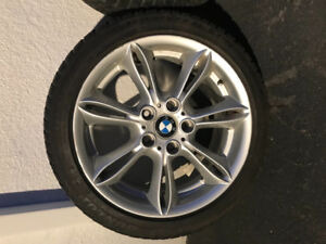 Winter tires runflats with mags bmw
