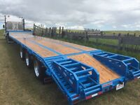 Trucking  - step deck/ramps  -  Available for work