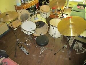 SWB complete drum kit
