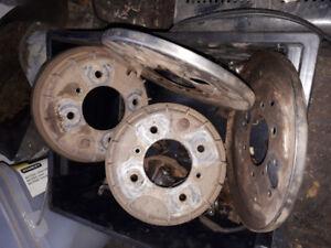 Honda 450 foreman brake drums