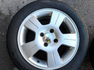 "17"" 4 bolt rims from a 2006 Ford Focus"