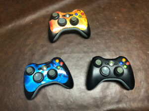 Xbox Games, Wireless Internet Router, Controllers and Cords