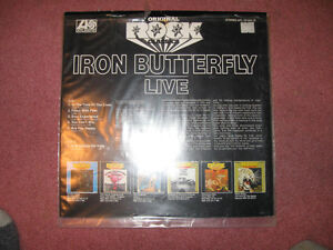 Iron Butterfly = Live Import LP Peterborough Peterborough Area image 2