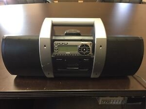SiriusXM receiver, boombox, and desk kit