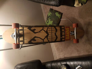 BARELY USED LONGBOARD
