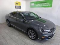GREY VOLKSWAGEN PASSAT 2.0 R LINE TDI BLUEMOTION TECH DSG ***from £281 p/m***