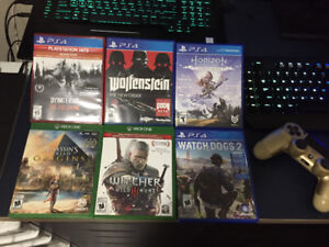 Games for trade for Skyrim PS4