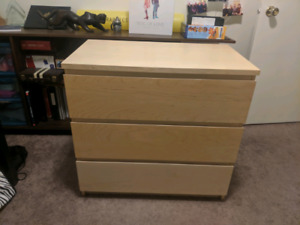 Ikea Malm Esque Chest Drawer Dressers